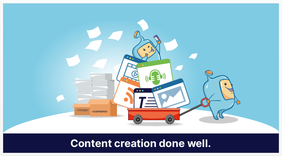 content creation featured image