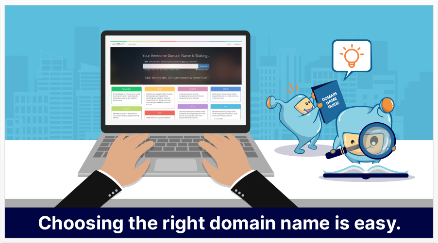 how to choose domain name featured image