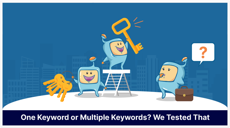 optimize one or multiple keywords featured image